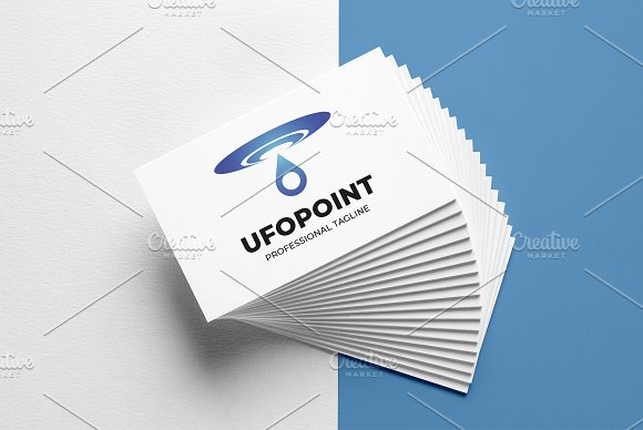 UFO Point Logo Template