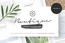 Boutique - Logos collection 01 by Davide Bassu in Templates