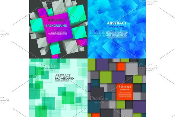 Abstract Square Background Vector Illustration Texture Creative Graphic Geometric Cover Trendy Geometry Wallpaper Poster Pattern Design For Banner Poster Flyer Card Postcard Cover Brochure