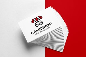 Gameshop Logo Template