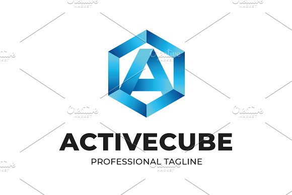 Activecube Logo Template