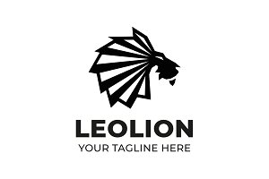 Leo Lion Logo Template