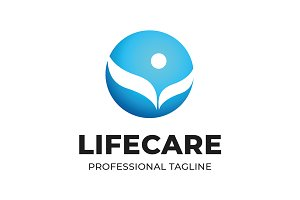 Lifecare Logo Template