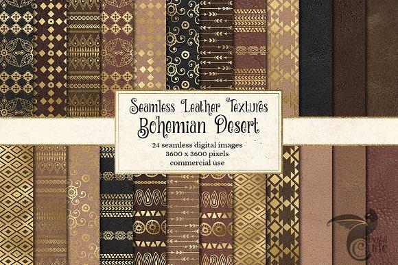 Bohemian Desert Digital Paper