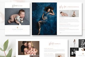 Photography Studio Magazine Template