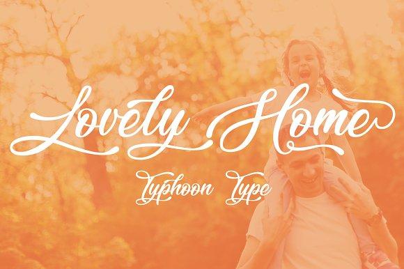 Lovely Home Font