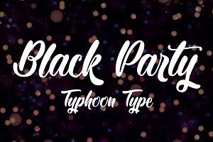 Black Party font