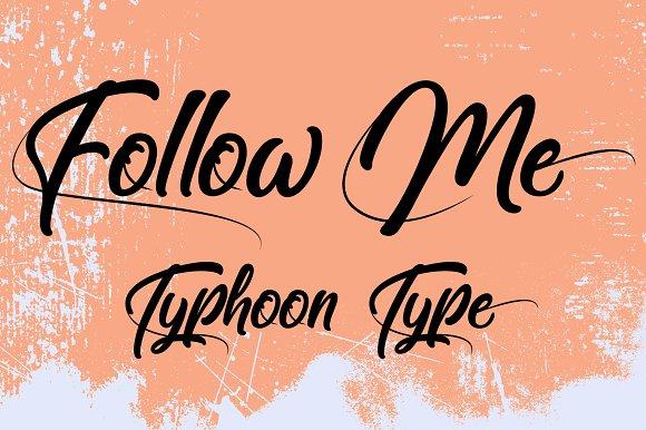 Follow Me Font