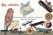 Skater vector bundle