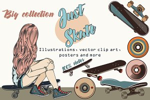 Skater vector bundle