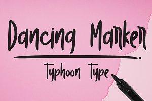 Dancing Marker font