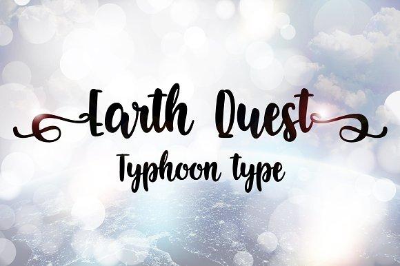 Earth Quest Font