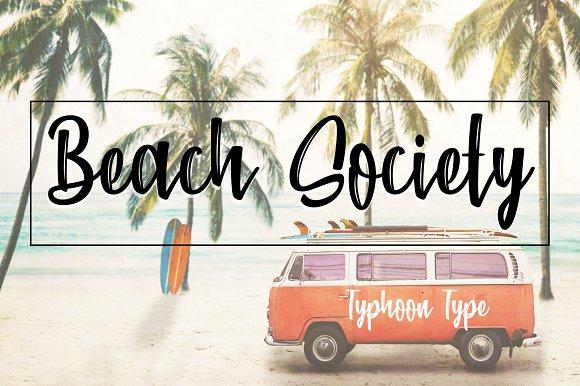Beach Society Font