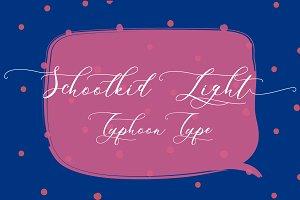 Schoolkid Light font