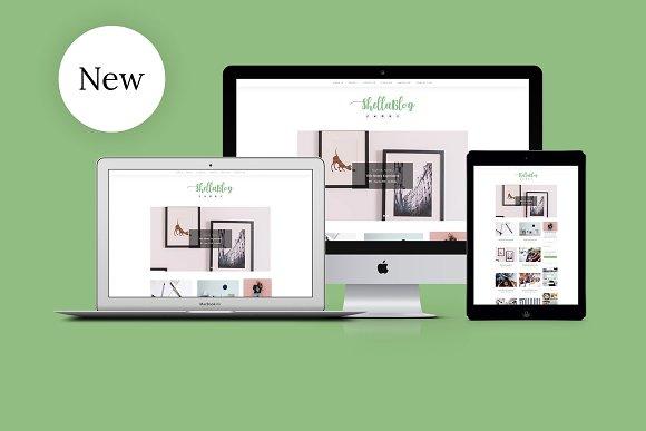 Shella A WordPress Blog Theme