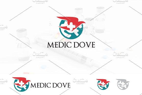 Flying Dove Global Health Logo