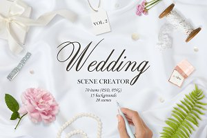 Wedding. Mockup Creator Vol. 2