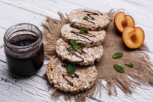 Good nutrition. Rice cookies
