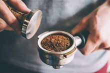 Making coffee by Yulia Grigoryeva in Food & Drink