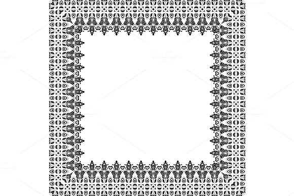 Floral Vector Pattern Abstract Background