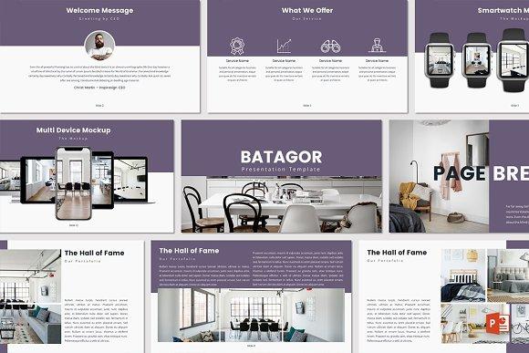 BATAGOR Powerpoint Template