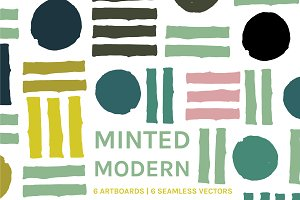 Minted Modern | Patterns