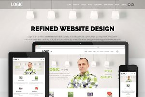 Logic - MultiPurpose WordPress Theme