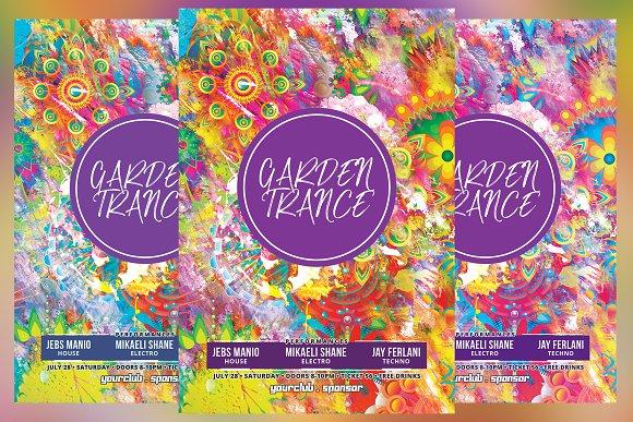 Garden Trance Flyer