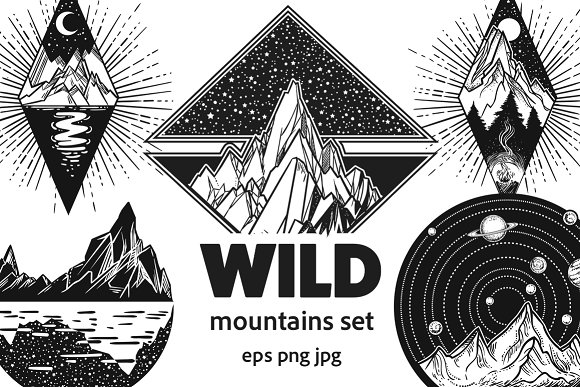 Wild Mountains Set
