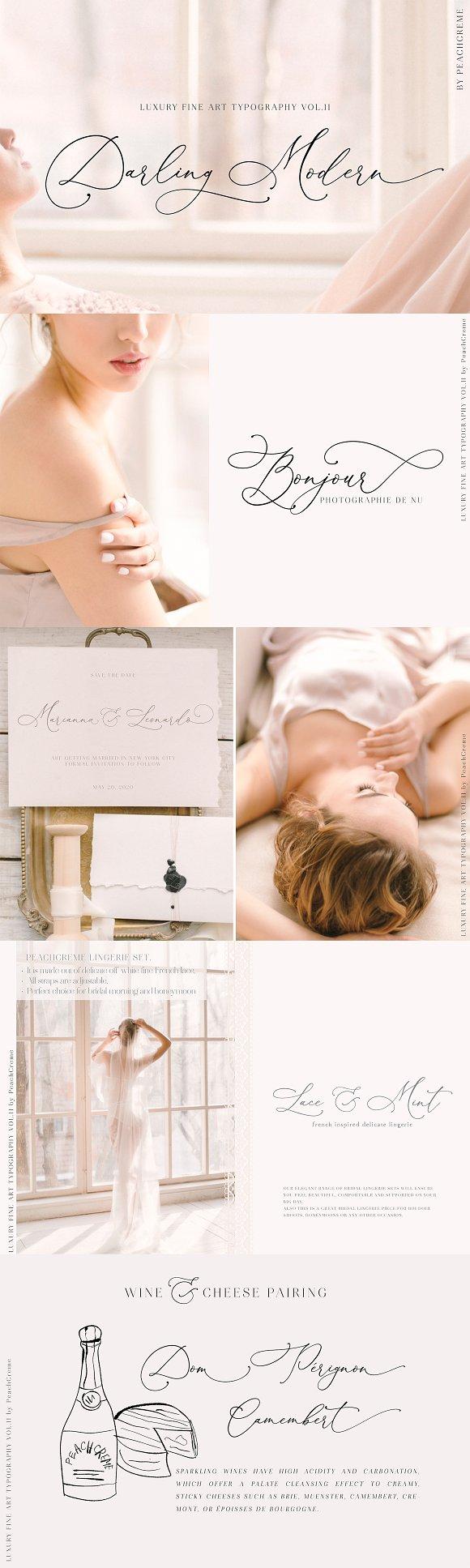 Darling Modern Luxury Font