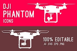 DJI Phantom Series Icons