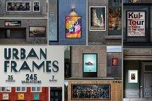 Urban Frames Mockups