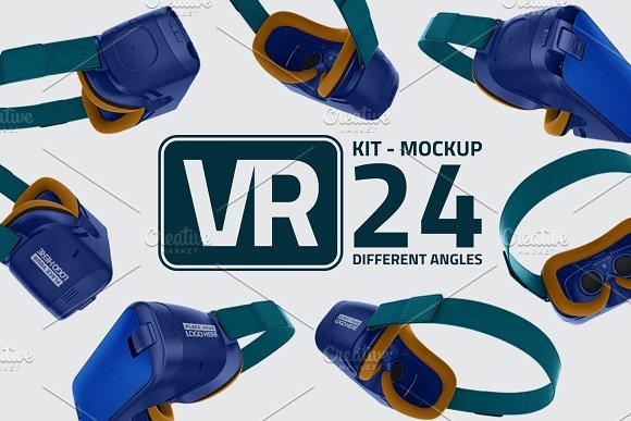 VR Kit Mockup