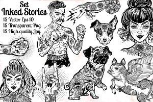 Inked Stories Set