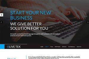 OliveTek - Responsive Template