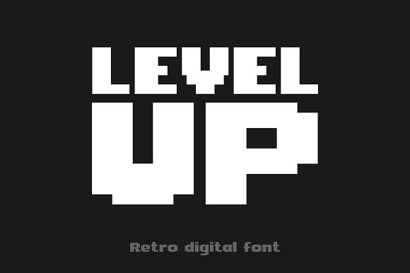 Level Up Font