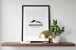 Mountain Peak Logo Template