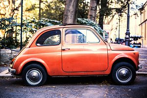 Fiat 500, vintage car