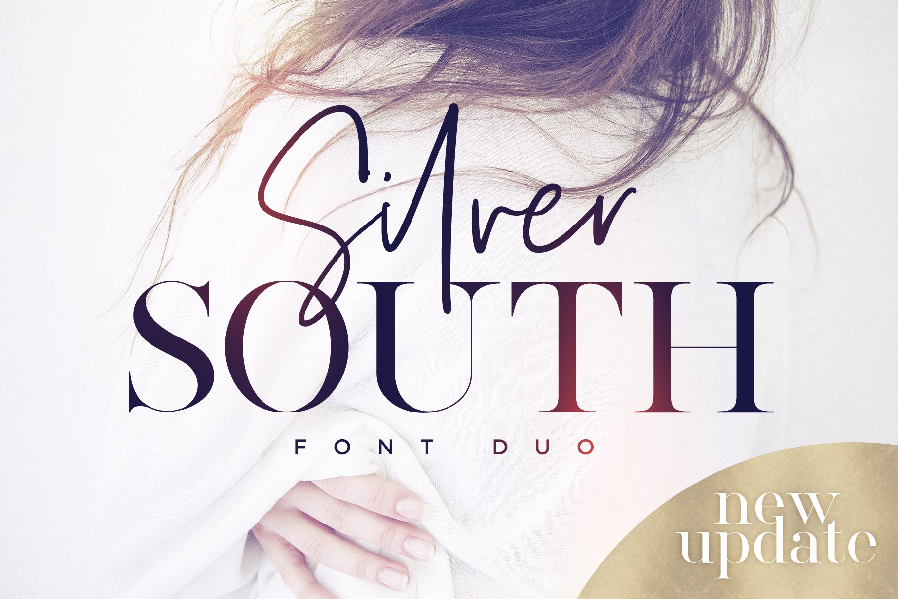 Silver south font duo new update script fonts creative market fandeluxe Choice Image