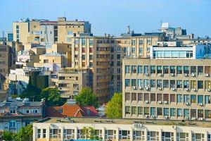 urban architecture Bucharest, Romani