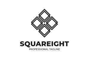 Squareight Logo Template