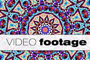 Looping video. Ornamental Mandala