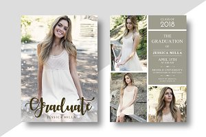 Graduation Announcement Card vol 7