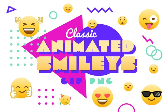 Classic Animated Smileys