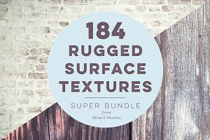 184 Rugged Textures - Mega Bundle