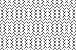 Seamless net texture pattern with black squares on white background, illustration