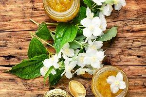 Jasmine flower jam