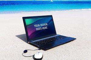 Laptop Display Mock-up #17