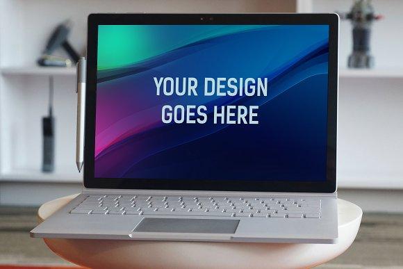 Laptop Display Mock-up #16