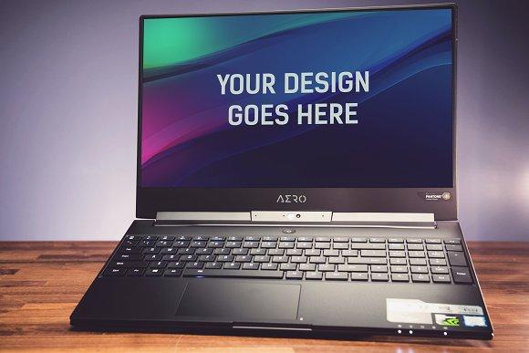 Laptop Display Mock-up #9